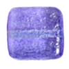 Glass Bead Squares 8mm Two-Tone Sugar Violet - Strung